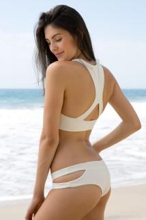 Strappy neutral bikini