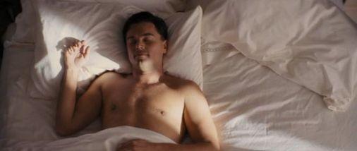 Leonardo DiCaprio Sleeping