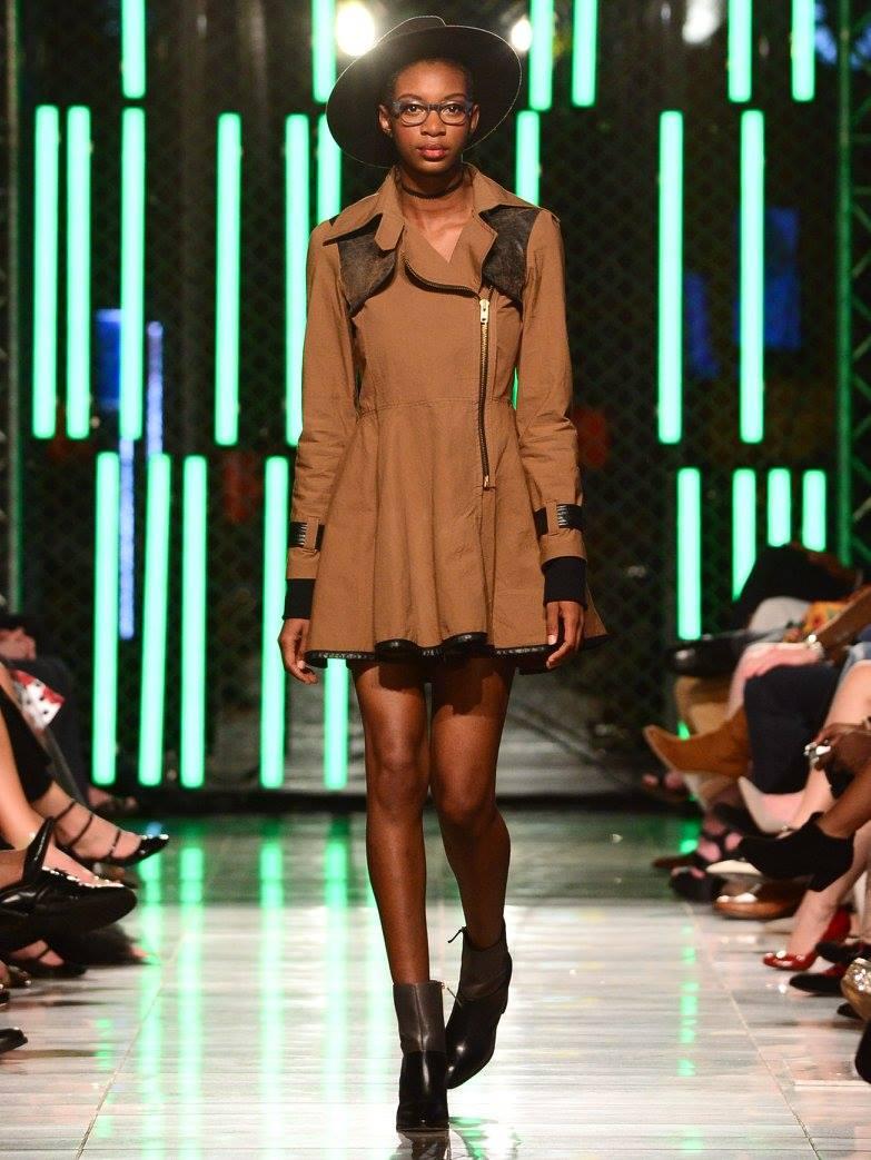 Kyra Deva at Fashion Week MN Envsion Fall 2016 Fashion Show