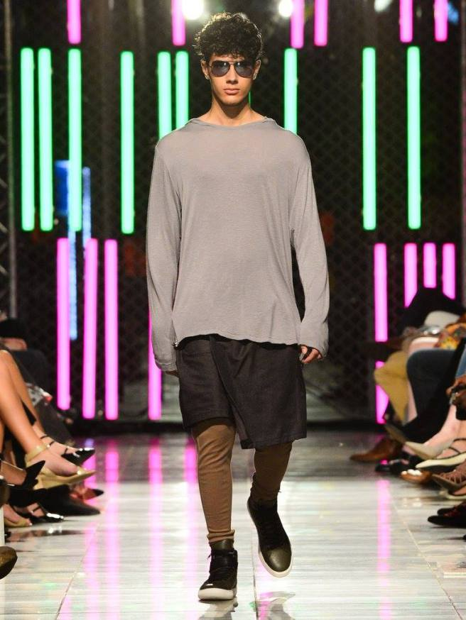 Raul Osorio at Envision Fall 2016 Fashion Show