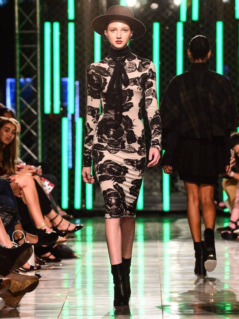 Kyra Deva at Envision's 10th Anniversary Fall Fashion Show 2016