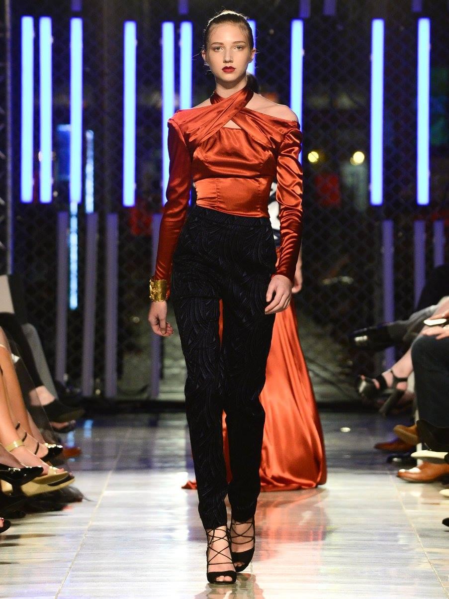 Reinier Vigoa for the Envision Fall 2016 10th Anniversary Fashion Show