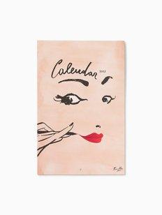 Kate Spade Read My Lips 2017 Wall Calendar